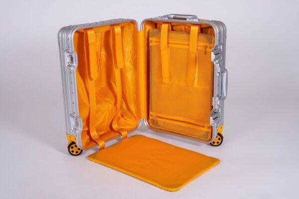 cabin bag, aluminium